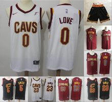 9a38364cd28a Free shipping A+++ quality Mens Adult  23 LeBron James 0 Kevin Love 5 JR  Smith