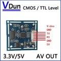 НОВЫЙ RS232/TTL JPEG Цифровой Последовательный Модуль Камеры VC0706 SCB-1 с видеовыход Поддержка VIMICRO протокола Камеры ВИДЕОНАБЛЮДЕНИЯ