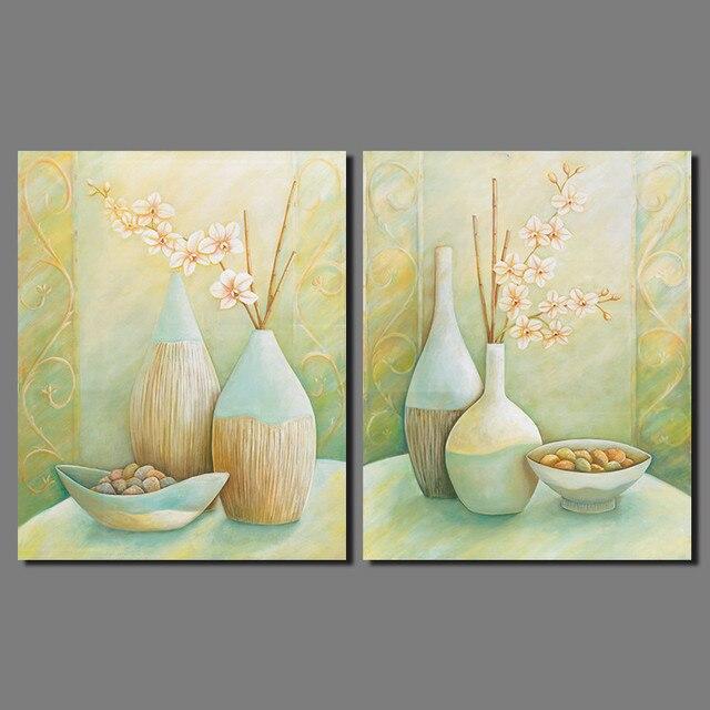 Japanese style 2pcs/set still life vases bowl plum flower ...