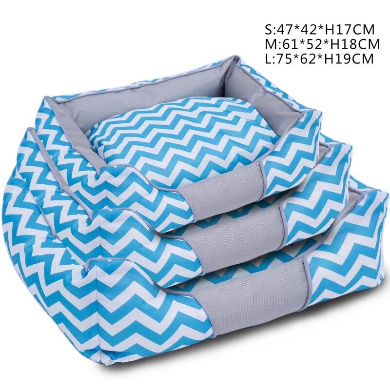 Big Pet Bett Kühlen Stil 3 Farben 2017 Sommer Softeis Gefühl matte Für Hund Katze Kissen Coole Puppy Hundehütte S/M/L NEUE entwicklung