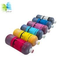 Winnerjet 6 Colors 1000ml Dye Ink for Epson Stylus Photo 1400 1500w P50 Artisan 1430 PX650 PX660 PX660 Printer brand printer print head for epson stylus photo 1410 1430 1430w 1500 1500w l1800 printhead f173050 f173060