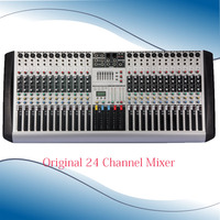 New HX2402 Professional Audio DJ Mixer 24 Channels Mixer EQ Mixing Console