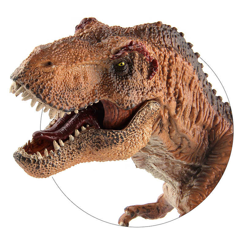 Jurassic Action figure Tyrannosaurus rex Model Toys Dinosaurs Model Kaiser Dragon 34*10*16 cm Dinosaurs Toy For Kids the dinosaur island jurassic infrared remote control electric super large tyrannosaurus rex model children s toy