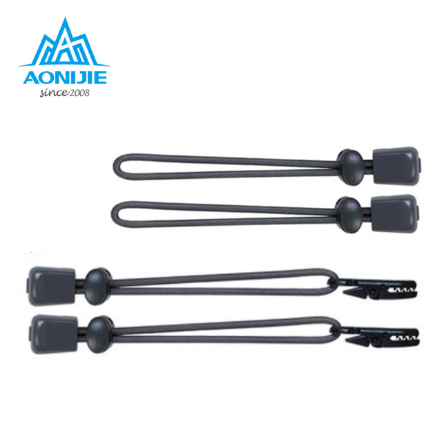 AONIJIE Outdoor Unisex Camping Tool Marathon Number Rope Buckle Professional Running Race Sports Number Energy Lanyard