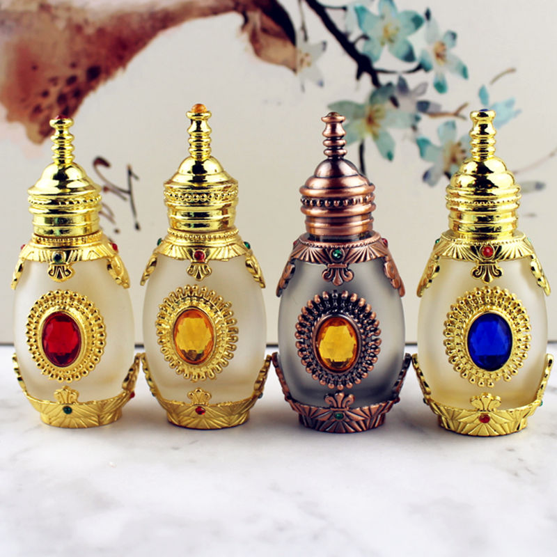 15ml Antique Perfume Bottle Empty Glass Essential Oil Bottle with Glass Dropper Cosmetic Container Craft Decoration Gift15ml Antique Perfume Bottle Empty Glass Essential Oil Bottle with Glass Dropper Cosmetic Container Craft Decoration Gift