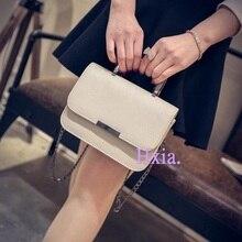 Freies verschiffen, 2016 neue handtaschen, koreanische version umhängetasche, süße mode klappe, mini frau umhängetasche, kette handtaschen.