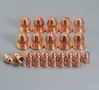 Esab PT25 القطب 21595 30 قطع + 21597 فوهة 100a 30 قطع لكل لوط قطع البلازما مستهلكات PT 25