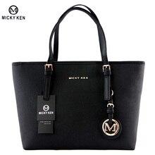 MICKY KEN Marke 2017 Neue Frauen Handtaschen Pu-leder Damen handtasche Einkaufstaschen Designer Bolsos Mujer Sac Ein Haupt Totes MK010