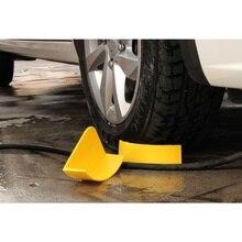 חדש 1Pcs צהוב אוטומטי המפרט רכב לשטוף ניקוי צמיג ריבה Eliminators רכב לשטוף להכניס פירוט כלי