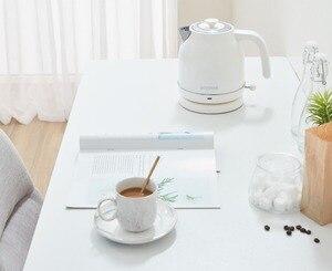 Image 2 - Электрический чайник с контролем температуры, большой емкости 1,7л с часами