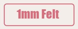 felt 1mm