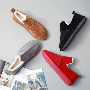 Image 5 - Зимние женские ботинки SWYIVY, женские плюшевые бархатные меховые теплые зимние ботинки, женские теплые короткие зимние ботинки