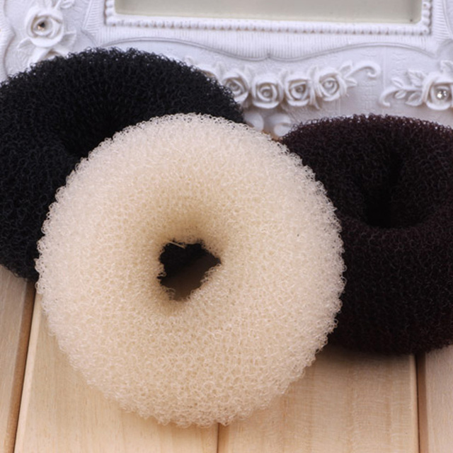 Donut Shape Hair Ring Bun 3