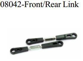 Details about  /2pcs Alum Front//Rear Upper Link For RC 1//10 166017 HSP Buggy Truck 06016 08042
