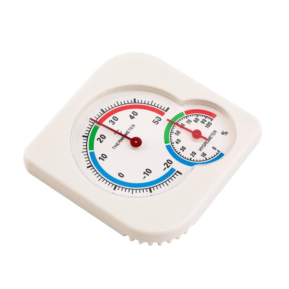 Universal Indoor Freien Nass Hygrometer Feuchtigkeit Thermometer Temp Temperatur Meter Gelb Mechanische Thermometer Analysatoren Werkzeuge