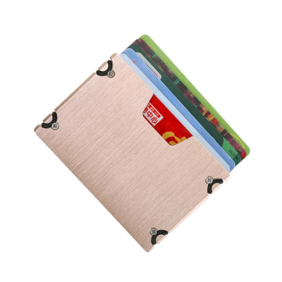 Men Women Unisex ID Credit Card Protector Wallet Card Holder Package Box credit card holder minimalist wallet #147