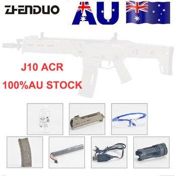 Zhenduo игрушки Jinming 10 поколение ACR пистолет игрушка гелевый шар бластер водяная Пуля для детей Спорт на открытом воздухе