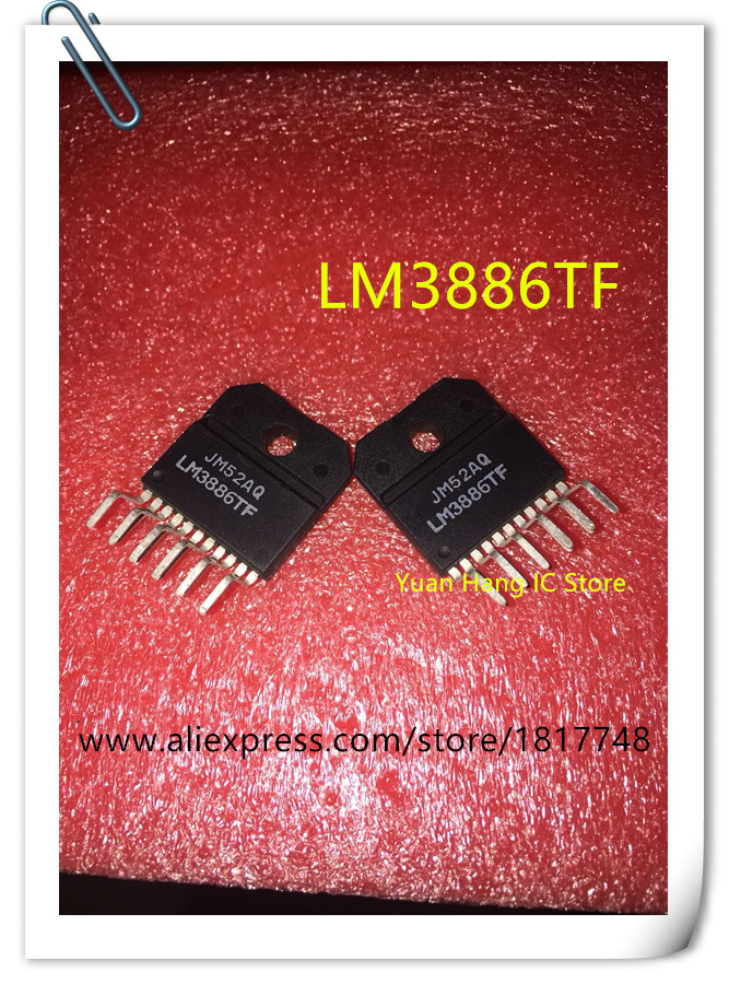 5pcs/lot LM3886TF LM3886T LM3886 ZIP IC Fever Power Amplifier Chip IC  New Original