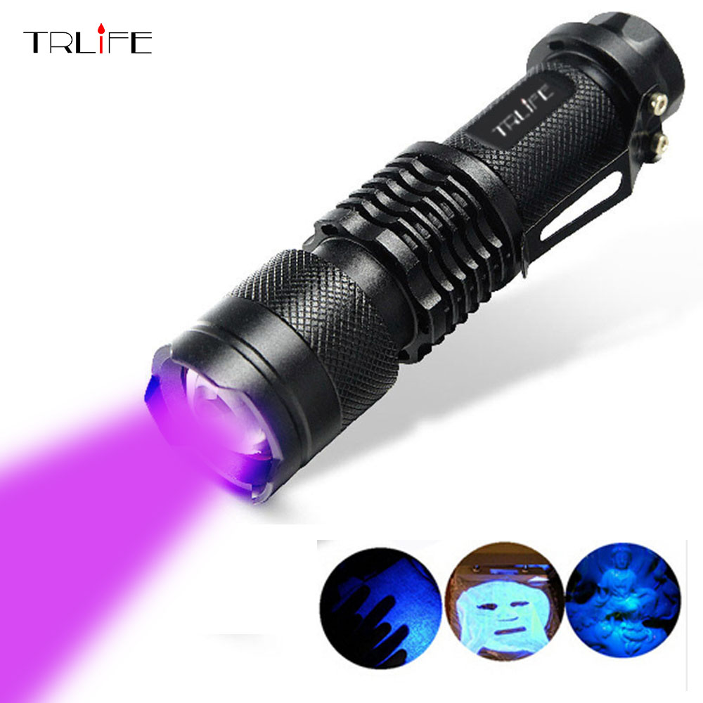 UV Black Light Flashlight Torch Light Ultraviolet Lantern Light Black Light UV Hand Torch UV Lamp For Money ,Bed Bugs, Scorpions