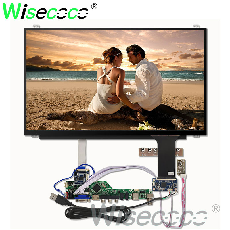 15.6'' 1366*768 HD LCD LED laptop screen display capactive touch screen  NT156WHM N45 LVDS to EDP HDMI VGA controller board-in Tablet LCDs & Panels from Computer & Office    1