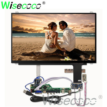 15.6'' 1366*768 HD LCD LED laptop screen display capactive touch screen  NT156WHM-N45 LVDS to EDP HDMI VGA controller board ltn140at26 h02 ltn140at26 h02 screen lcd panel original new 1366 768 lvds 40pins