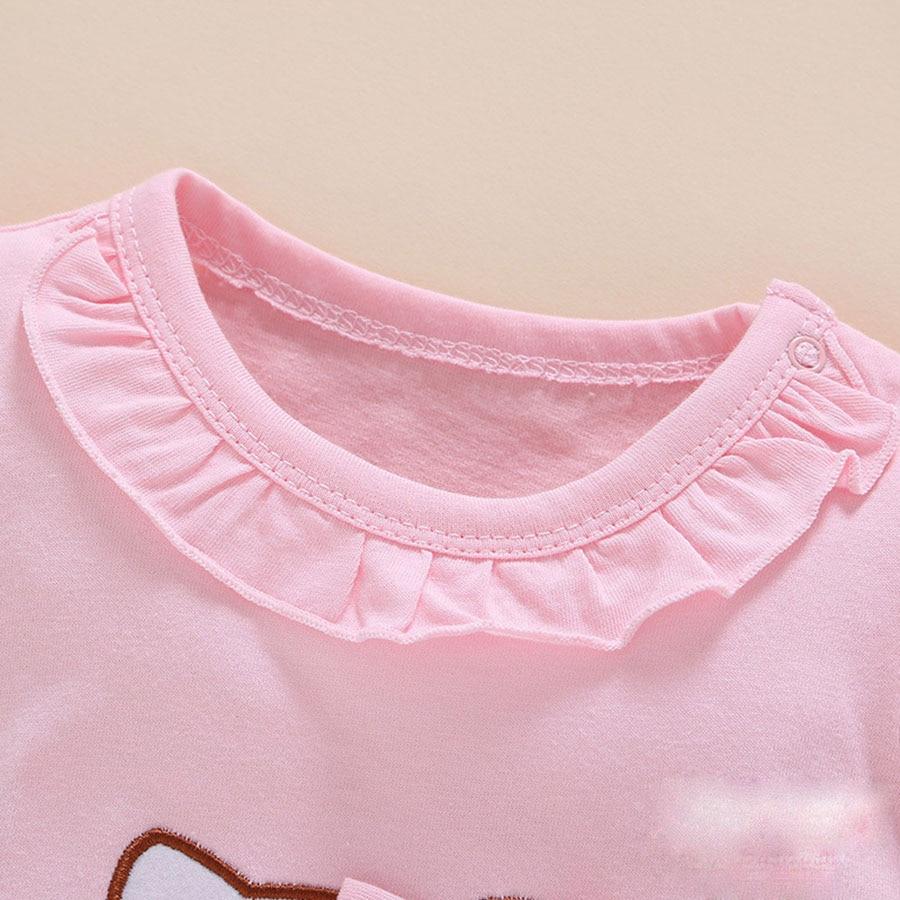 Summer Style Baby Rompers Dziewczyny Ubrania Bawełniane Hello Kitty - Odzież dla niemowląt - Zdjęcie 4