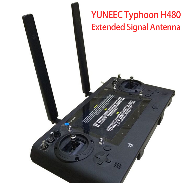 YUNEEC Typhoon H480 Transmitter Signal Antenna Extended Omni-directional Signal Range for RC Typhoon H480 Quadcopter 2pcs high quality 4s full 5400mah 14 8v 79 92wh replacement lipo battery for yuneec typhoon h drone rc quadcopter