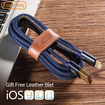 Torras para el cable del iPhone cargador rápido carga de datos USB Cable corto adaptador 2A para iPhone 8 7 6x5 para IPad cable del teléfono móvil