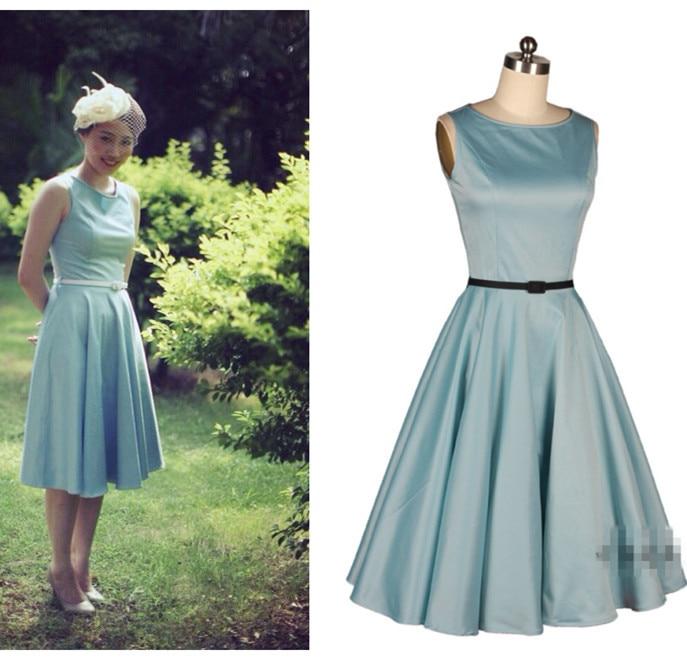 Aliexpress.com : Buy 2014 autumn women Hepburn 50s vintage ...