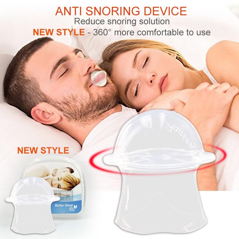 2018 New style Silicone Anti Snoring Tongue Retaining