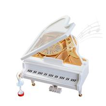 2017 NEW Christmas Ballet Vintage Swing Piano Music Box Christmas Gifts  N15