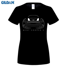 2018 New Summer Cool Tee Shirt Gerwomany Car T Mini Cooper S