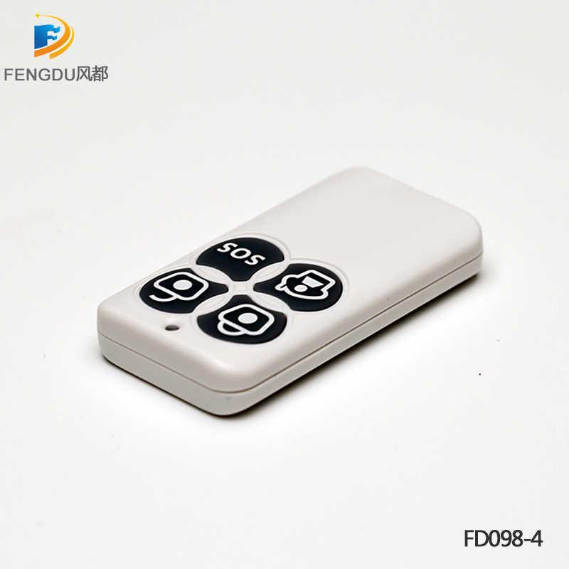 100 メートルワイヤレス 433Mhz のキーフォブ Remote 1527 FD098 ため FD101 SmartONE SOS セキュリティデバイスセキュリティスマートホームセキュリティ警報