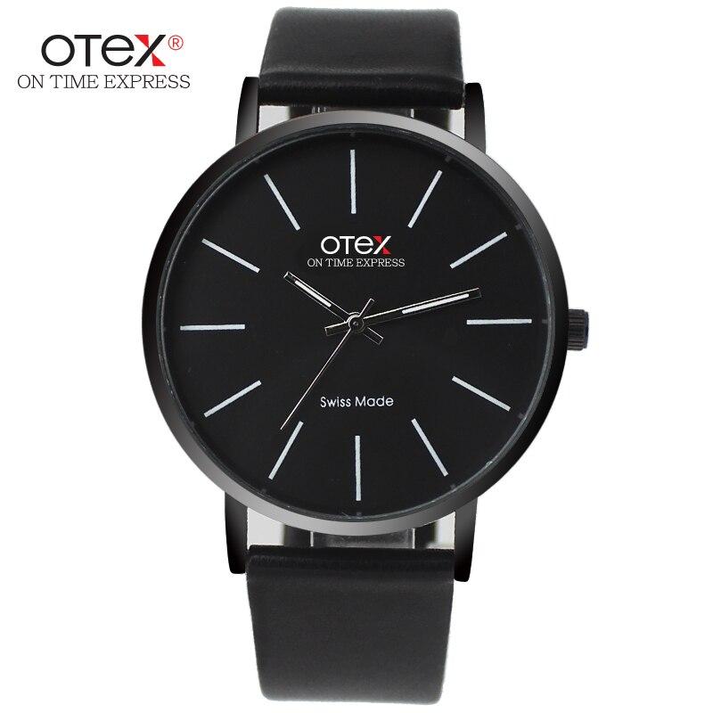 ̿̿̿(•̪ )OTEX Top Marca de luxo De Couro Dos Homens de Negócios de ... eb207d00567f6