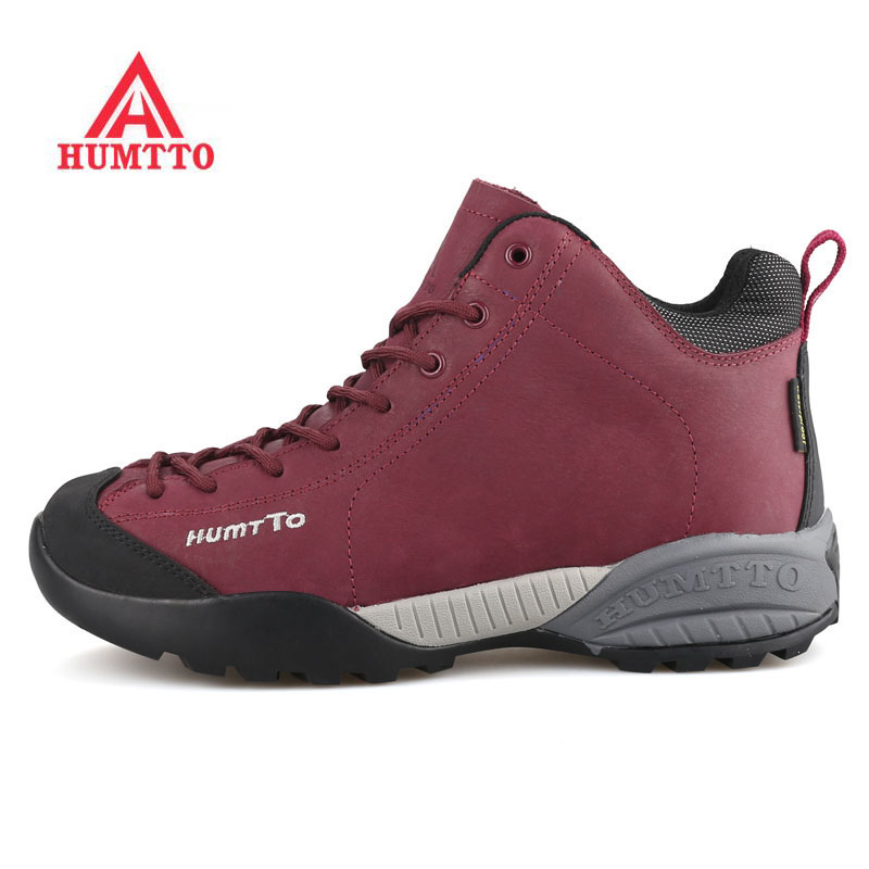 HUMTTO Women's Outdoor Winter Trekking Hiking Boots Shoes Sneakers For Women Sports Climbing Mountain Snow Boots Shoes Woman купить