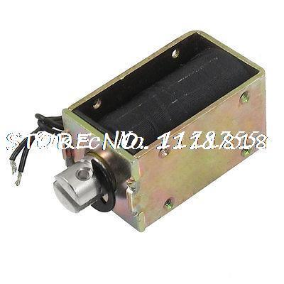 DC 24V 1.05A 6mm 1.8kg Actuator Linear Pull Solenoid Electromagnet Coil dc 24v 1 2a 18mm 0 3kg pull electric solenoid electromagnet coil