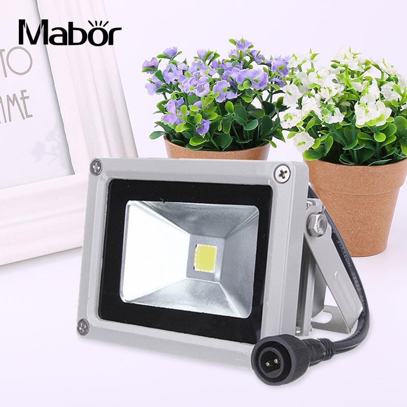 10W USB Solar Power LED Flood Night Light Garden Waterproof Outdoor Lamp 800LM ...