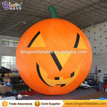 Free Shipping Halloween decoration inflatable pumpkin figure 6 Meters high hot sale blow up cushaw inflatables toy