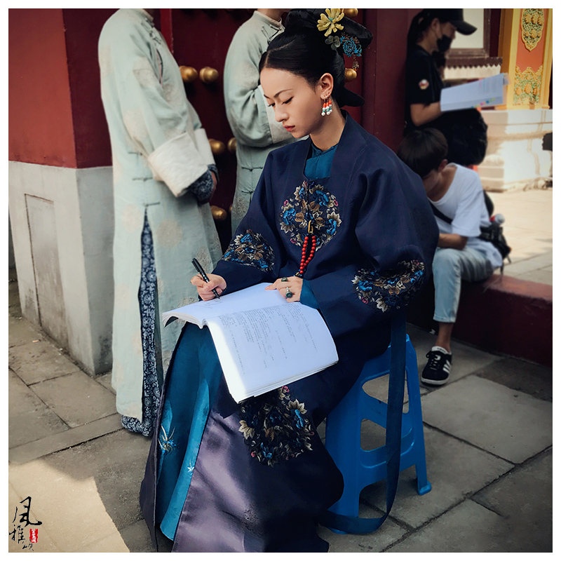 Male Emperor Female Princess Ling Wu JinYan Qing Dynasty Palace Qifu Costume Hanfu For Newest TV Play Story Of YanXi Palace
