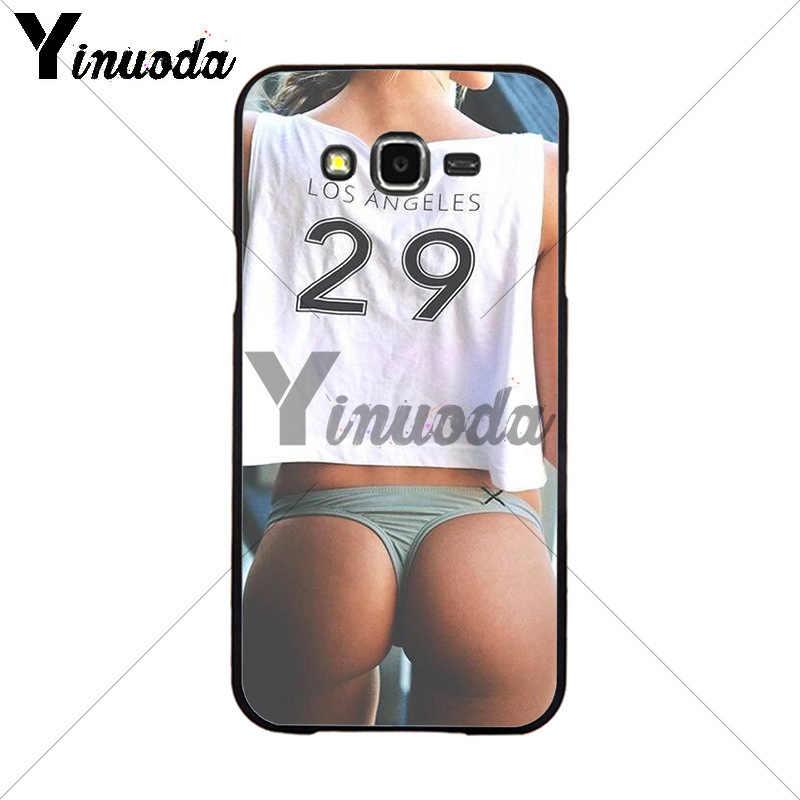 Yinuoda Seksi Pakaian Bikini Wanita Gadis Cetak Gambar Ponsel Cover UNTUK Samsung 2015J1 J5 J7 2016J1 J3 J5 J7 note3 4 5