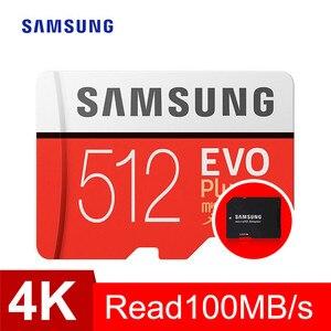 Image 3 - بطاقة ذاكرة سامسونج مايكرو sd 32GB 64GB 128GB 256GB 512GB EVO Plus Class10 مقاوم للماء TF ميموري بطاقة Sim للهواتف الذكية