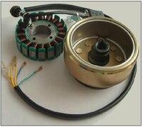 Starpad для Двигатель цикл Запчасти CG модифицированный эжектора машины 250 Вт трехфазный 18 полюс DC Двигатель катушки магнитная ротора Бесплатна
