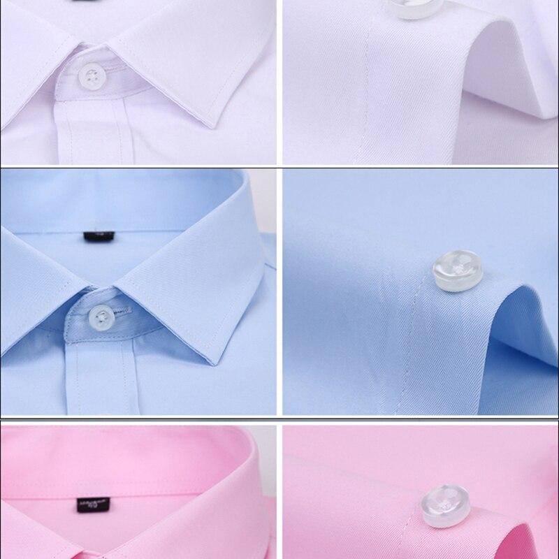 Image 3 - Dudalina Camisa Male Shirt Short Sleeve Men Shirt Brand Clothing Casual Slim Fit Camisa Social Masculina Chemise Homme No PocketCasual Shirts   -