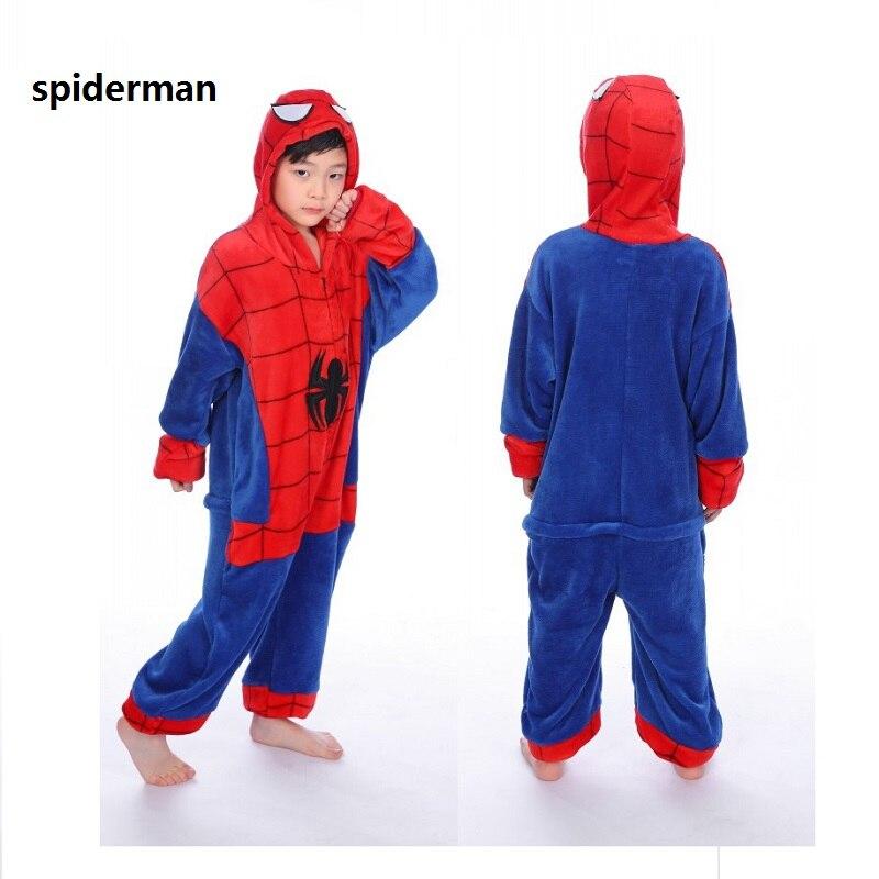 Weihnachten kinder tier einhorn panda spiderman kostüm Nette jungen ...