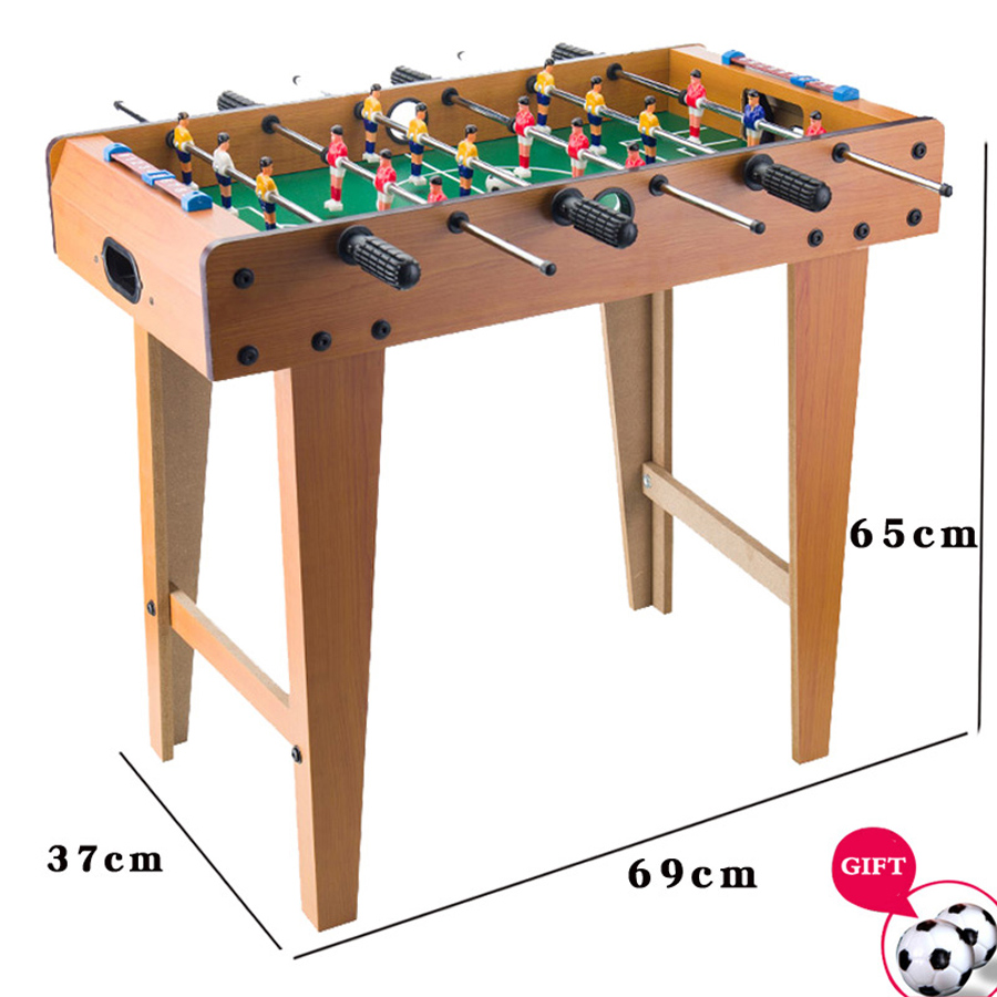 Football Table Games Foosball Table Soccer Tables Party Board Mini Balle Baby Foot Ball Desk Interaction Game Kid Player Gift T4-4
