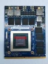 GTX 980M Graphics Grafikkarte GTX980M SLI X-Halterung N16E-GX-A1 8GB GDDR5 MXM Für Dell Alienware für MSI für HP