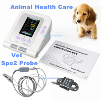 CONTEC08A VET Cat/Dog/Animal/Vet Automatic Blood Pressure Monitor Electronic Sphygmomanometer Tonometer SPO2 Tongue Probe PC