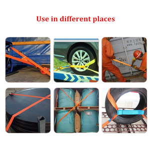 Image 4 - ALWAYSME 5M Length Heavy Duty 800KGS Tension Strength Ratchet Straps Tie Down Strap For Car Motorcycle Cargo Trailer Truck