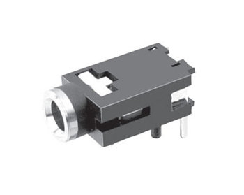 1000pcs Phone Jack 3.5mm 3 pin mono channel socket for 2 poles earphone plug through hole  DC30V 0.5A