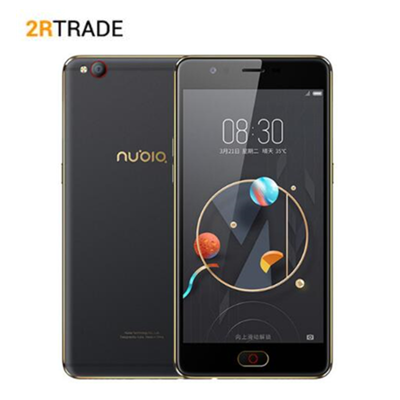ZTE NUBIA Snapdragon 625 2.0GHz Octa Core 5.5 2.5D M2 4GB+64GB ROM Glass AMOLED FHD Screen Dual Camera Android 4G Smartphone